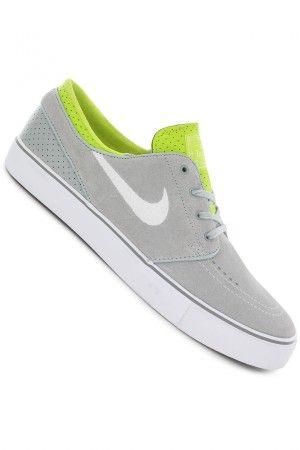 3d460c6d5 Nike SB Zoom Stefan Janoski Shoe (base grey white venom green)