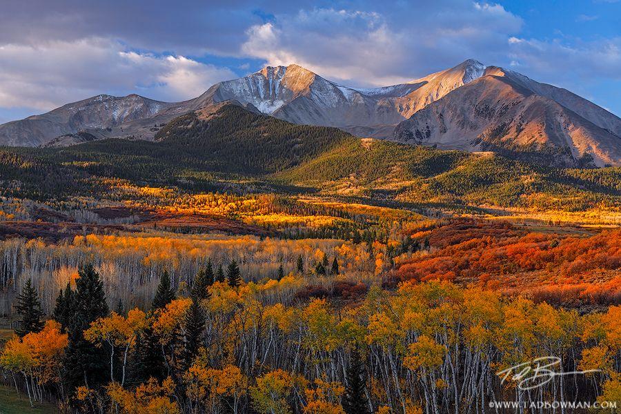 Mount Sopris Sunrise Colorado Landscape Mountain Photography Mountain Landscape