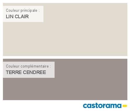 Castorama Nuancier Peinture - Mon harmonie Peinture LIN CLAIR satin de DULUX VALENTINE Crême de couleur