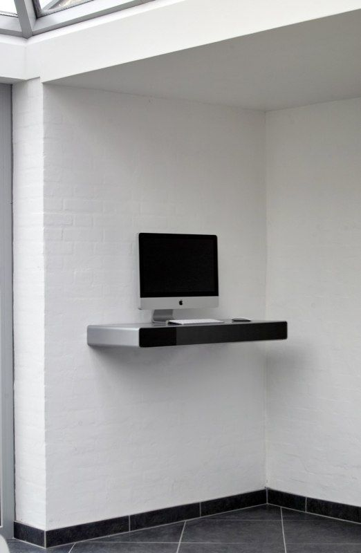 Idesk Wall Mounted Computer Desk For Modern And Compact