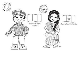 Las Misiones Y Los Niños Dibujos Para Colorear De Niños De