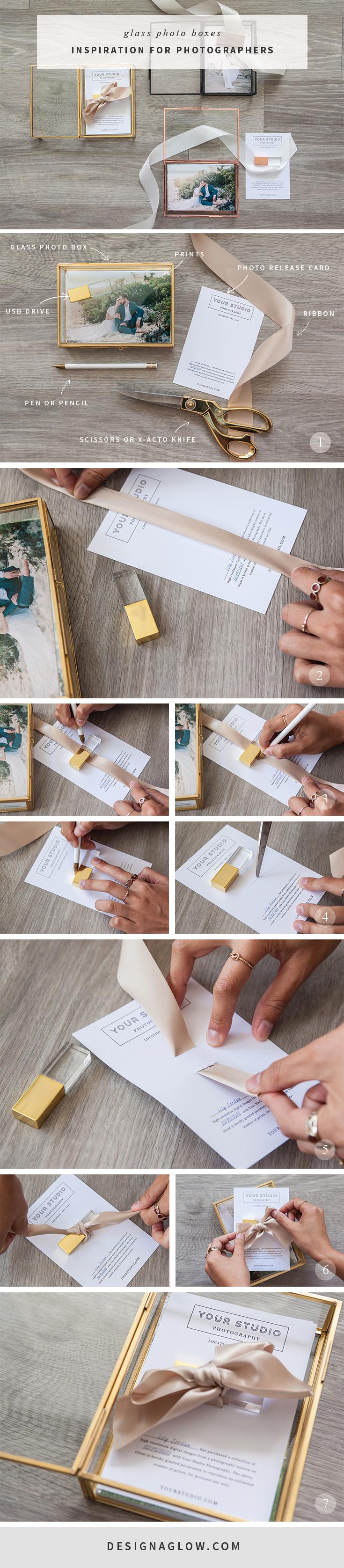 DIY: Photo Box Inspiration for Photographers | Usb drive, Box and Glass