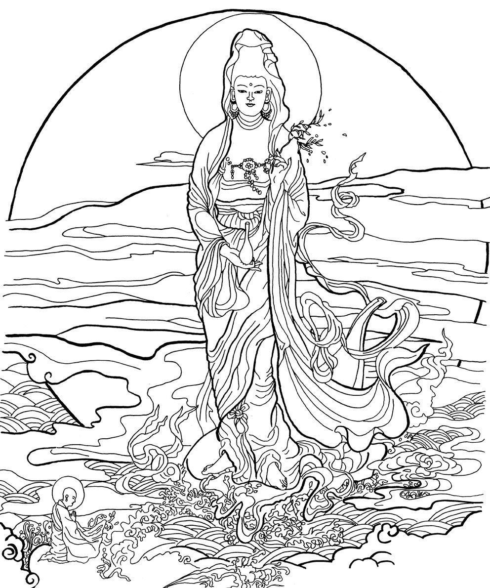 Pin by Loretta Davis on coloring pages | Pinterest | Buddha tattoos ...