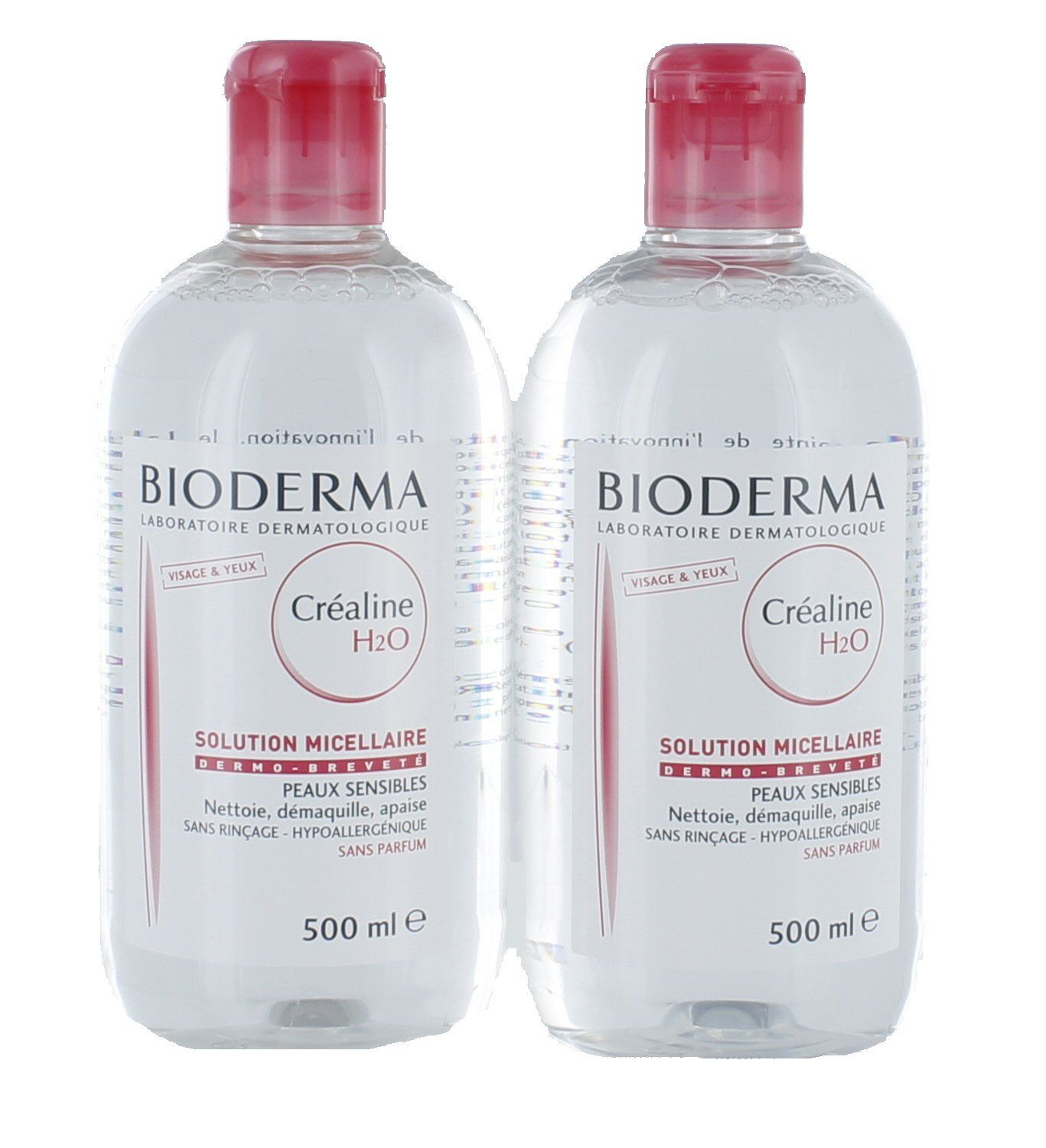 Bioderma Créaline H2O Micelle Solution 2 x 500ml Amazon