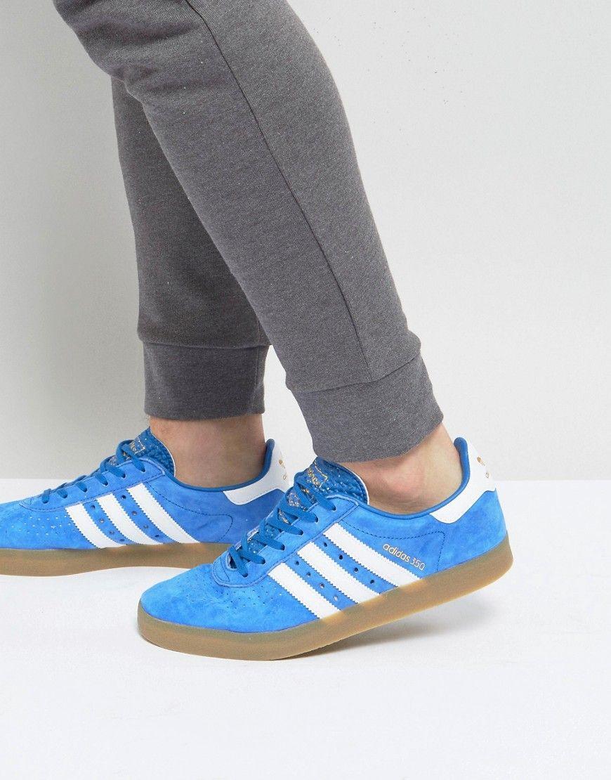 639c97b5d ADIDAS ORIGINALS 350 SNEAKERS IN BLUE - BLUE.  adidasoriginals  shoes