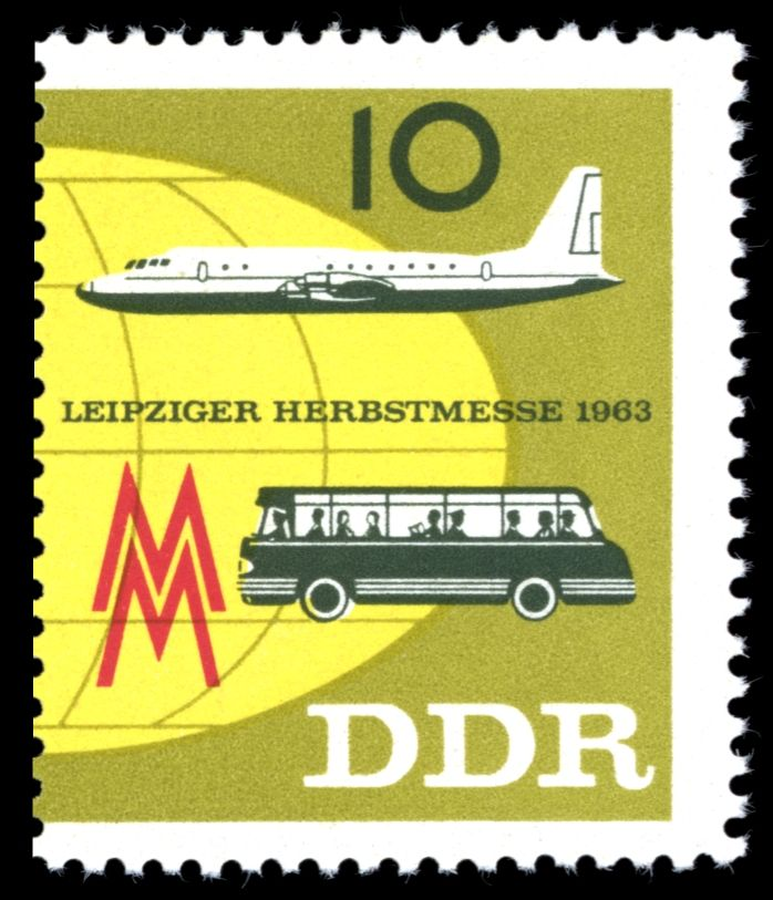 1947 & 1948 Germany Allied Occupation Leipziger Messe 6 MH