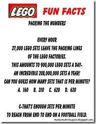 Lego Fun Facts 2