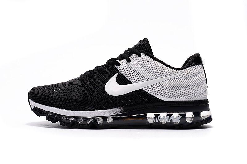 Nike Air Max 2017 +3 Men Black Grey Shoes · Mens Formateurs En Cours  D'exécutionNike FormateursHommes ...