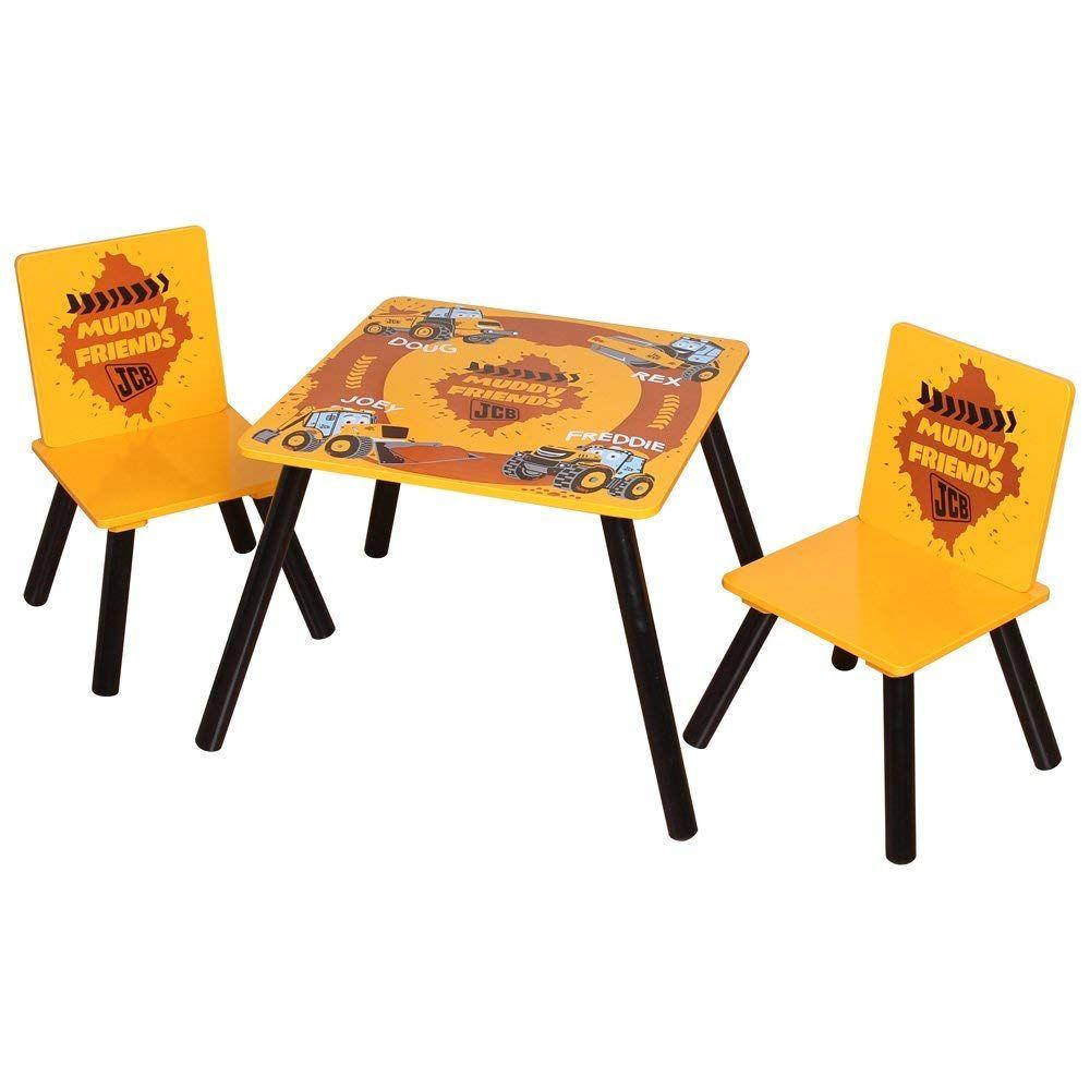 Kinder Sitzgruppe Fur Das Kinderzimmer Kleiner Baggerfahrer In 2020 Kinder Tisch Und Stuhle Tisch Und Stuhle Handy Kinder