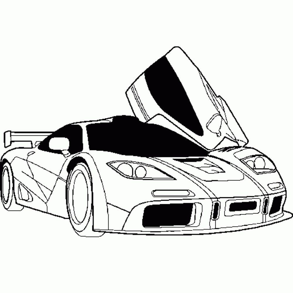 Kids Cars Coloring Pages | Kids Colouring Pages | Pinterest