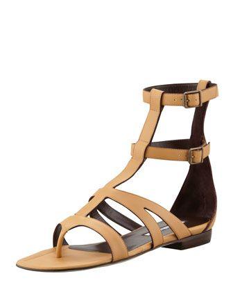 6e5d867ef22 Eliza Flat Gladiator Sandal