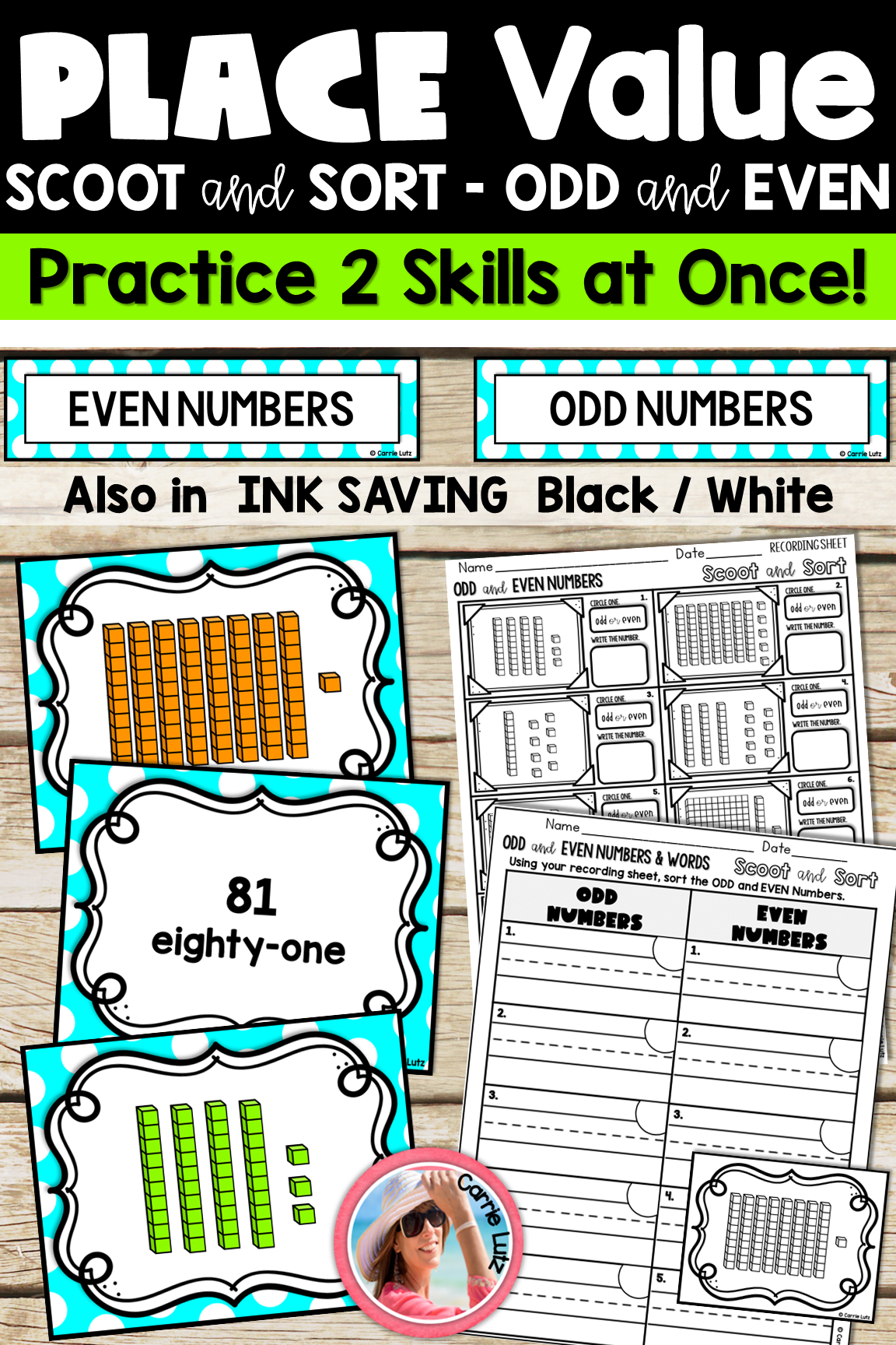 Place Value Scoot And Sort