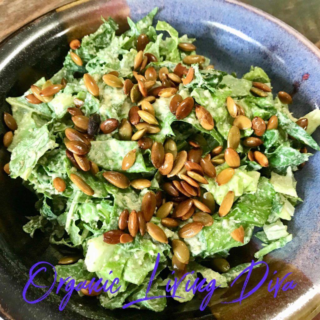 Delicious vegan caesar salad vegan caesar salad caesar