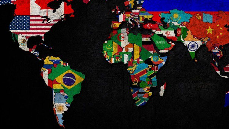 Foreign Language On Twitter World Map Wallpaper World Wallpaper Map Wallpaper World map wallpaper hd 1920x1080