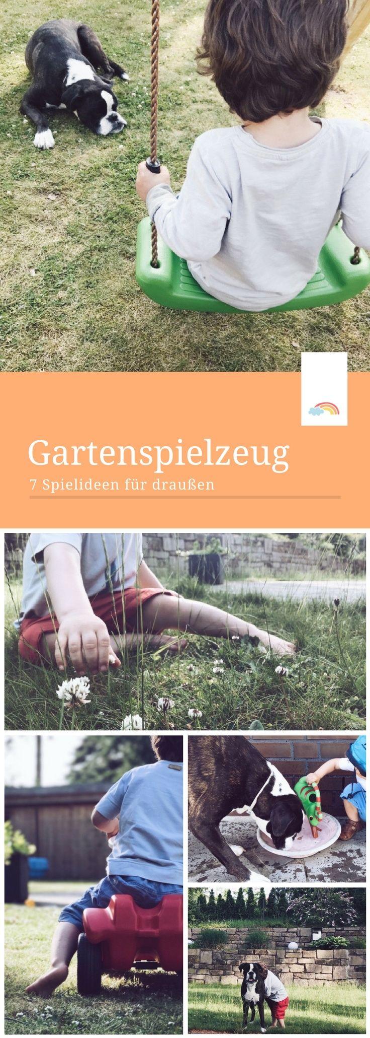 spielzeug für den garten - 7 spielideen für kleinkinder im sommer, Gartengerate ideen