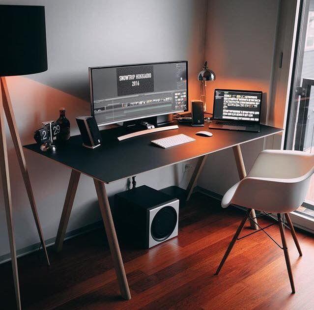 Arbeitsplatz   Design schreibtisch, Büroraumgestaltung