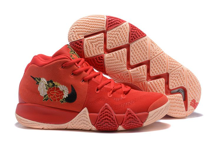 2018 Fireworks Nike Kyrie 4 CNY Ch-inese New Year Basketball Chaussures on