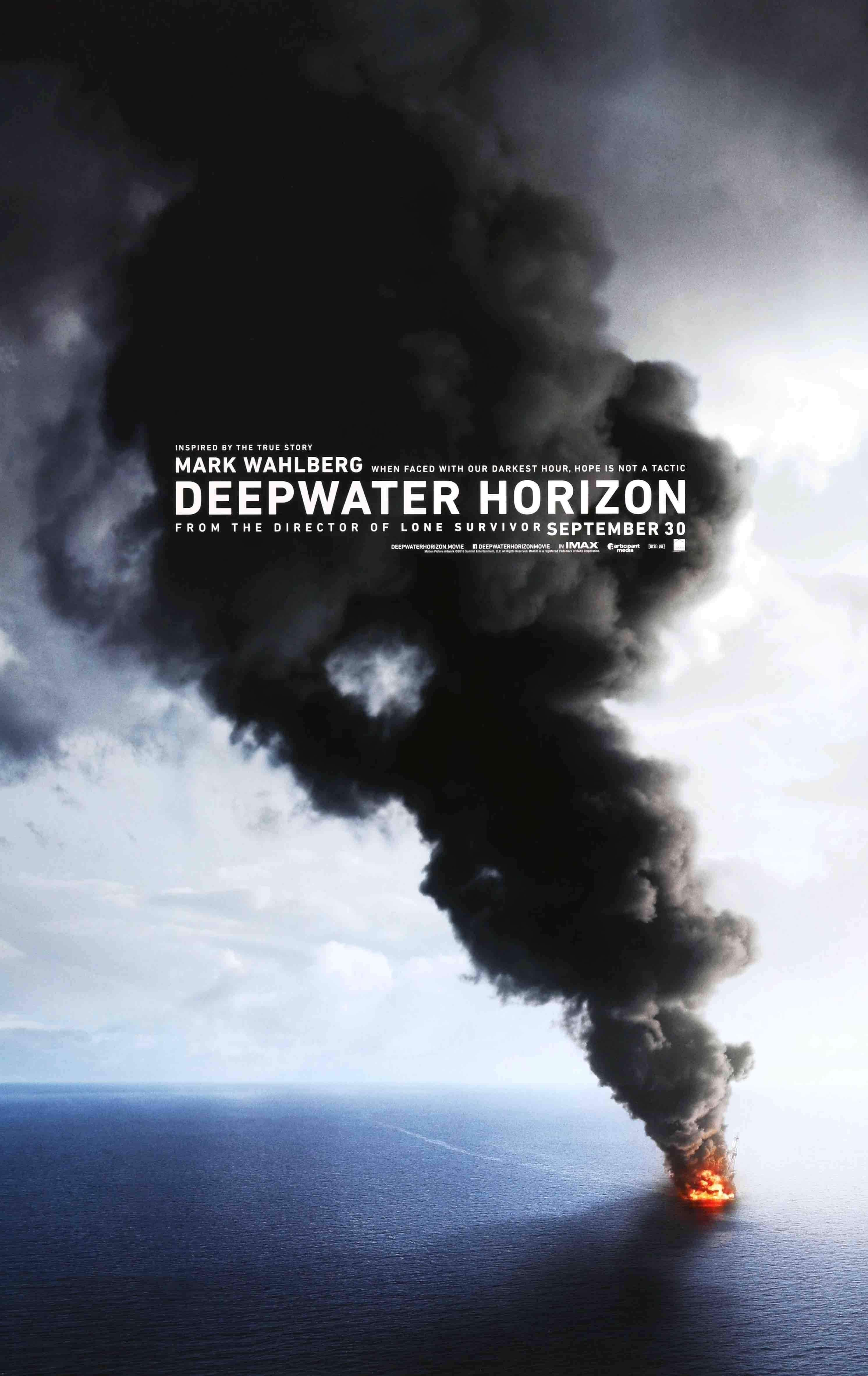 deepwater horizon 2016 ポスター 映画 海
