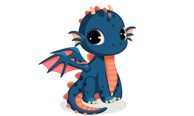 Cute Dragon Cartoon Photos Royalty Free Images Graphics Vectors Videos Adobe Stock Di 2020
