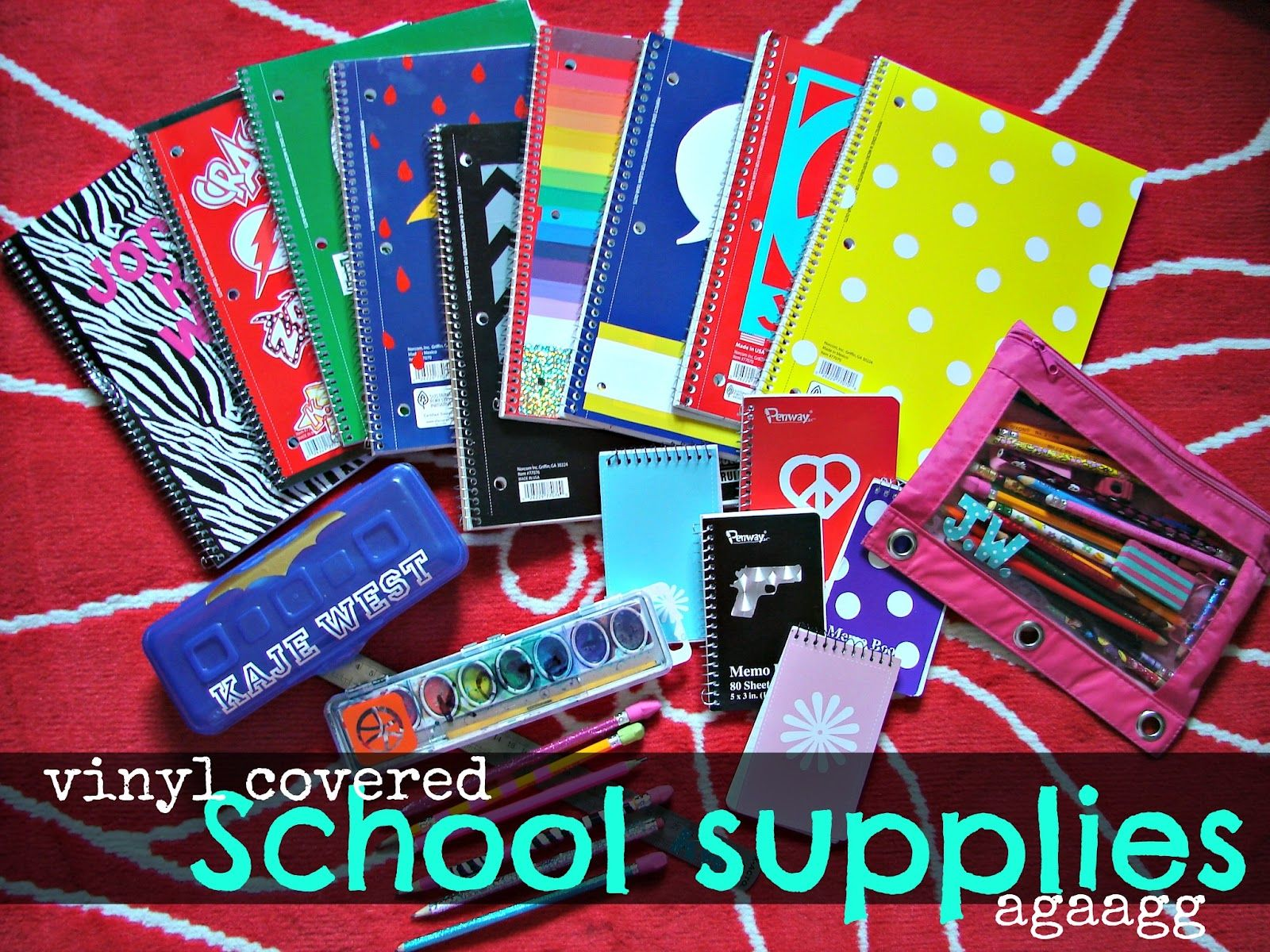 Getting Ready For School With Expressions Vinyl