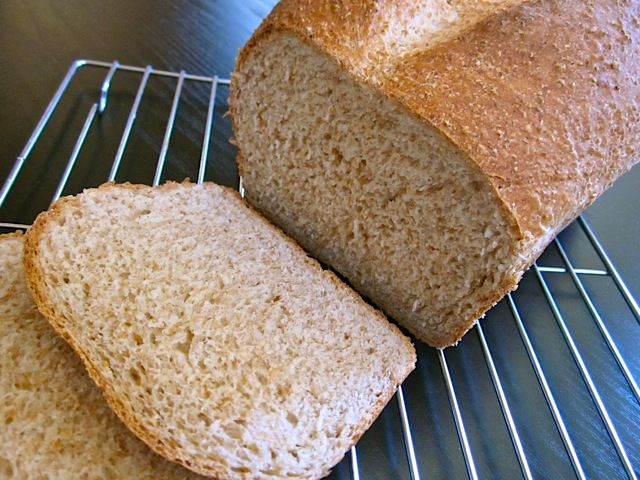 If you're looking for a soft and flavorful loaf, this honey wheat sandwich bread is it!