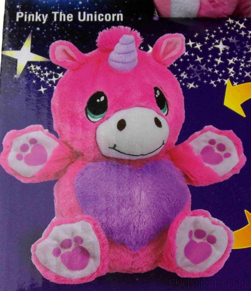 Ball Pets Pinky The Unicorn Pet Pink Plush Stuffed Animal Kids Toy
