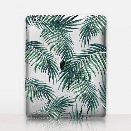 Palm Leaves Transparent iPad Case http://shopcatchingrainbows.com/shop-2/ipad-cases/palm-leaves-transparent-ipad-case/