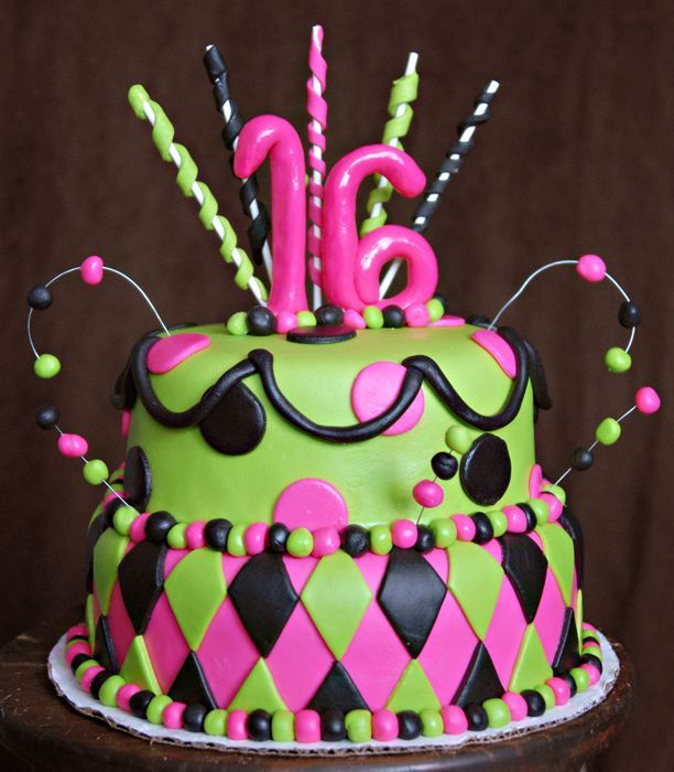 Birthday Cake Wonderful Birthday Cakes Pinterest Birthday - Sweet 16 birthday cakes