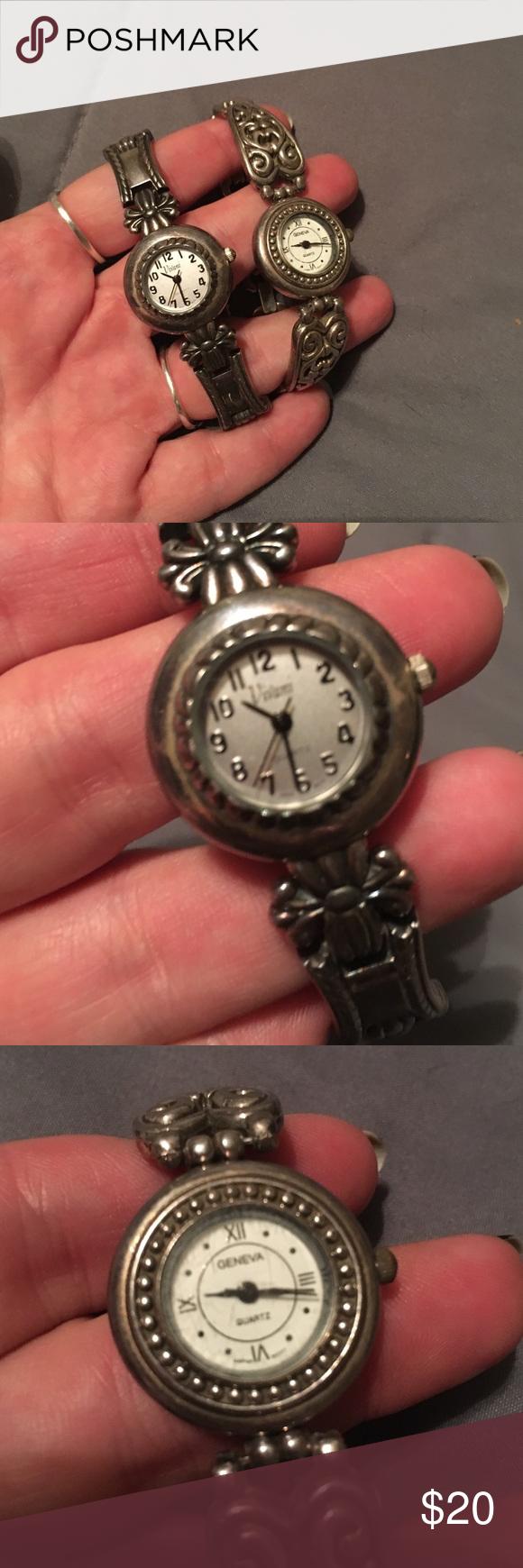 Watch Bundle One Geneva Quartz and one Vivani Quartz watch. Both in decent condition and need batteries. Accessories Watches