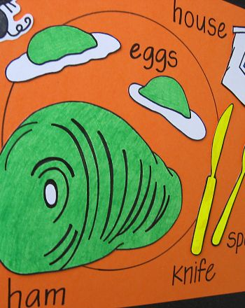 Activities Make A Green Eggs And Ham Inspired Placemat