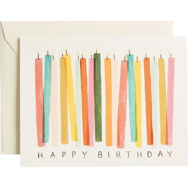 Birthday Candles Birthday Card | Paper Source