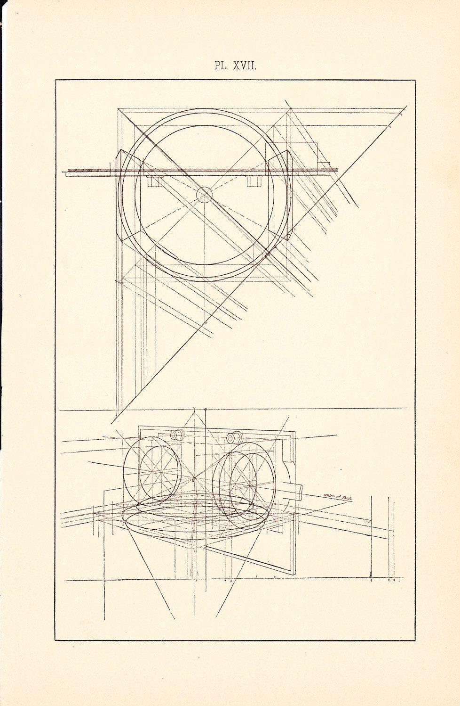 1886 technical drawing antique math geometric mechanical drafting 1886 technical drawing antique math geometric mechanical drafting interior design blueprint art illustration framing 100 malvernweather Choice Image