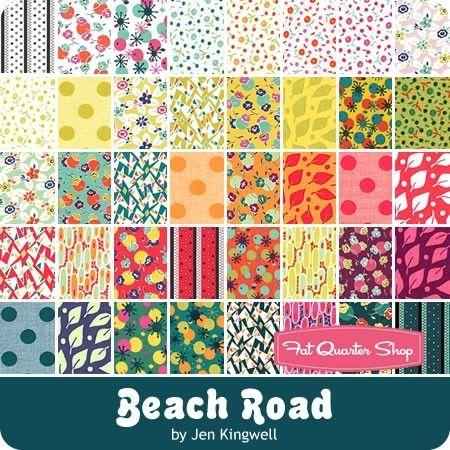 7a85d4409fca70 Beach Road Charm Pack Jen Kingwell for Moda Fabrics - Charm Packs   5