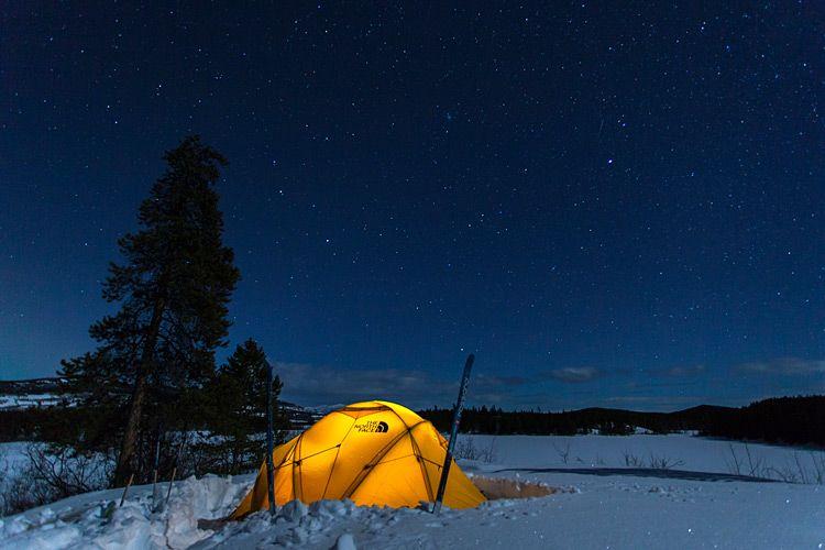 Winter camping   Winter camping, Camping in maine, Grand ...