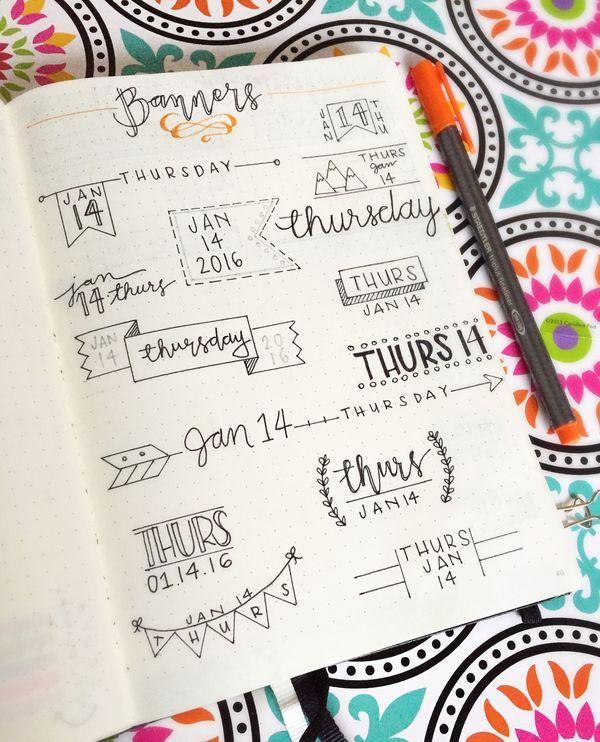 手帳やノートに素敵なデザイン文字を書けたらいいなと思いませんか 今回は初心者でも簡単にできるデザイン文字の書き方をご紹介します あなたの手帳やノートがもっと素敵になるはずです 手帳術 文字の書き方 ノート