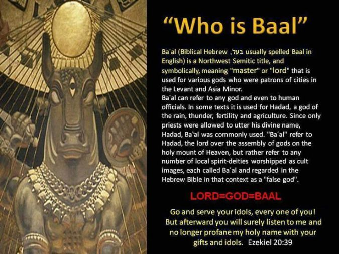 Baal (3) Definition and Meaning - Bible Dictionary