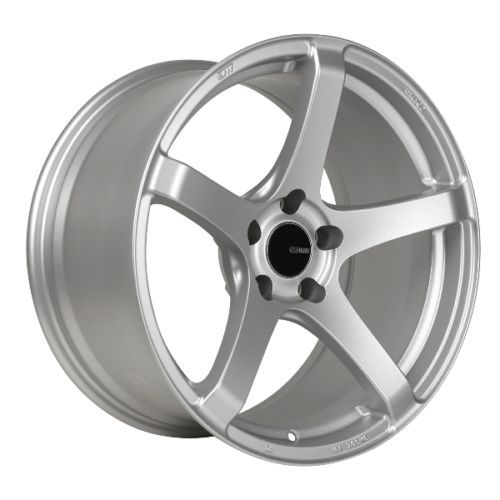 17x9 Enkei Kojin 5x114 3 45 Silver Wheel 1 Rim Only Bolt Pattern Wheels For Sale Wheel Rims