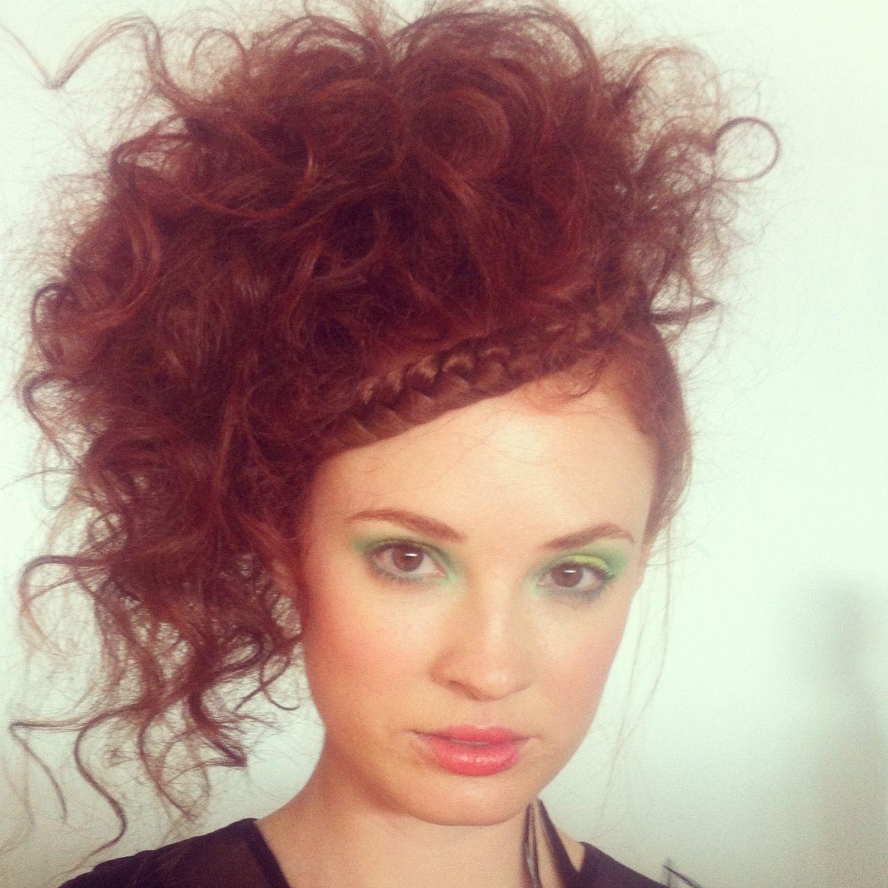 Model at new York fashion week #nolcha #braids