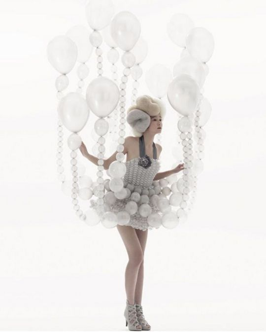balloon wedding dress | WEDDINGS: W.W.W.D. (Wild Wacky ...