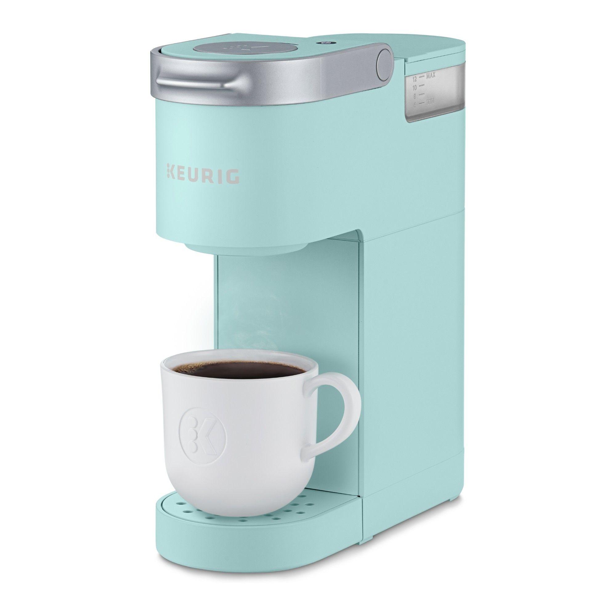 Keurig K Mini Single Serve K Cup Pod Coffee Maker Oasis House Of Turquoise Single Serve Coffee Makers Pod Coffee Makers