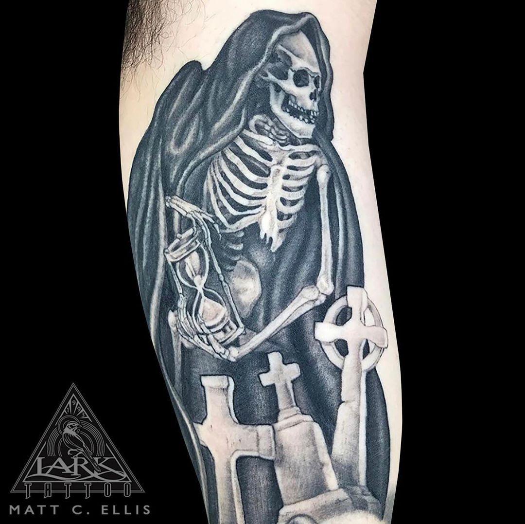 Tattoo by Lark Tattoo @larktattoo artist Matt C. Ellis @matt_c_ellis . . . . .