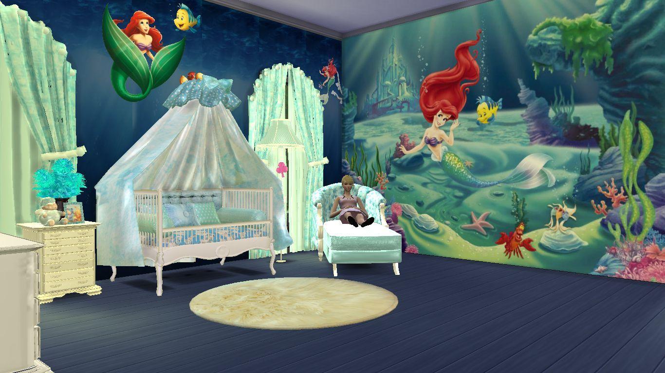 Sims 4 Cc Custom Content Nursery Furniture Set