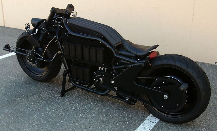 Batman S Badass Batpod Electric Motorcycle For Sale On Ebay Only 27 500 Electric Motorcycle Electric Motorcycle For Sale Custom Built Motorcycles