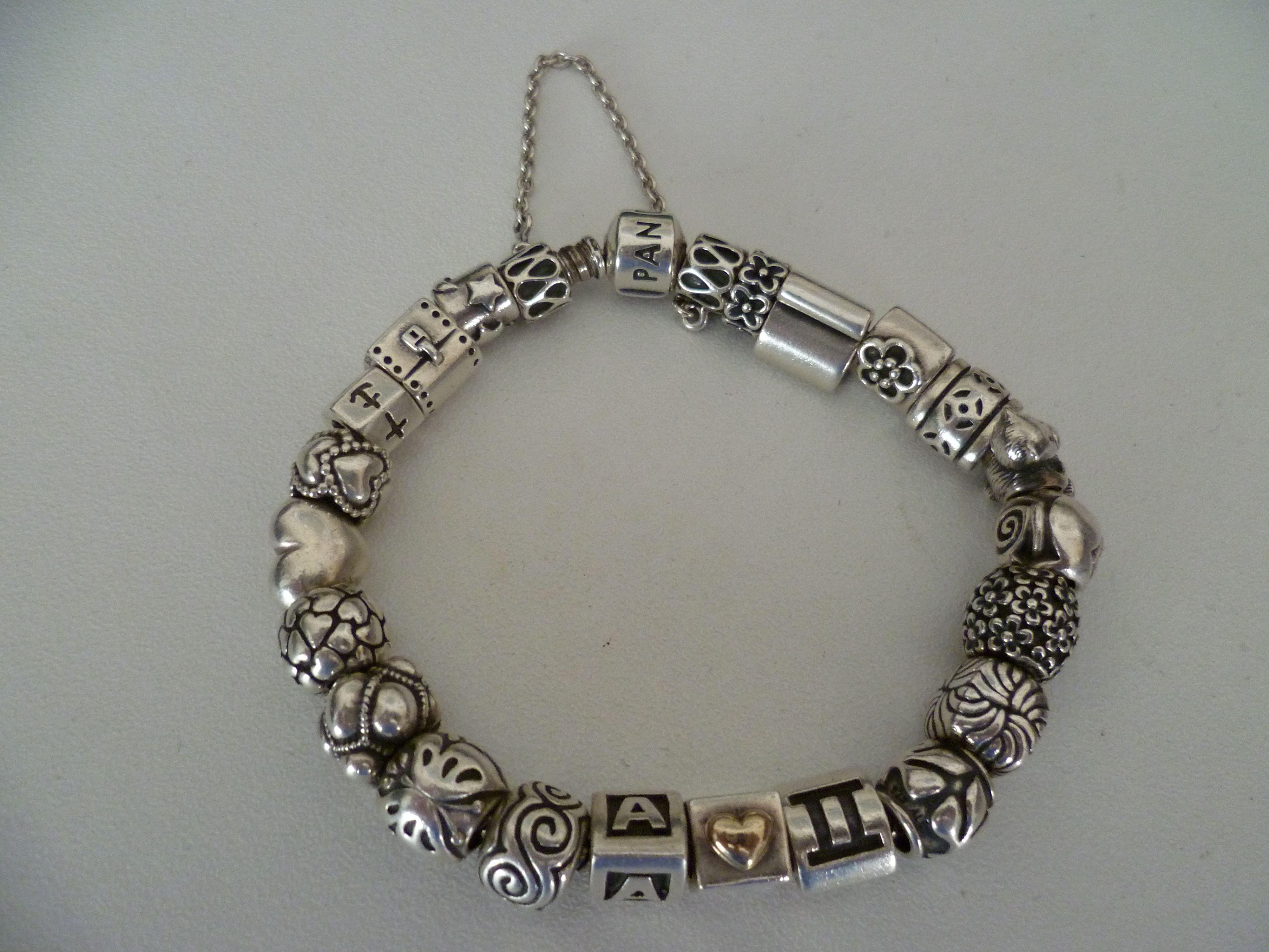 a full pandora bracelet pandora obsession pinterest