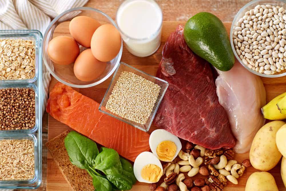 картинки продуктов с большим содержанием белка стрижка прядями