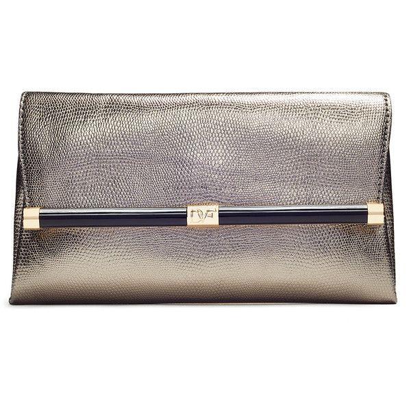 4c84d42927 Rental Diane von Furstenberg Handbags Lizard Envelope Clutch (90.125 COP) ❤…