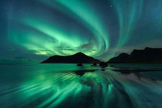 green sky 大自然の写真 風景 景色