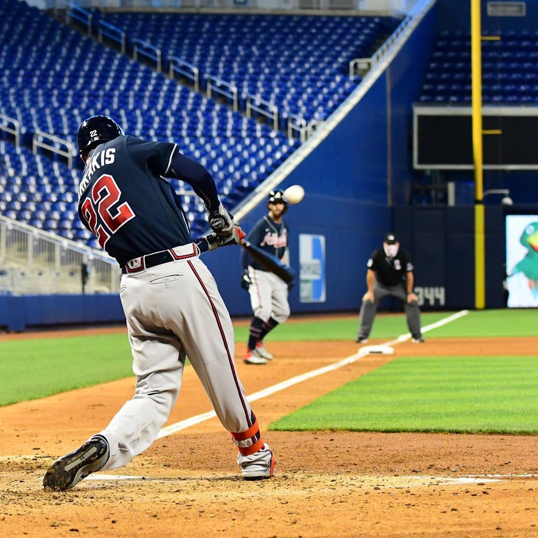Atlanta Braves All Nick Markakis Does Is Hit In 2020 Atlanta Braves Nick Markakis Braves