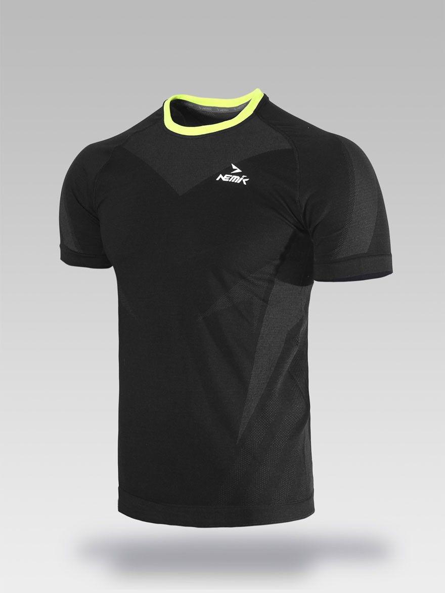 Playera deportiva negra Nemik  tshirt  black  Nemik  c952eeb506a51