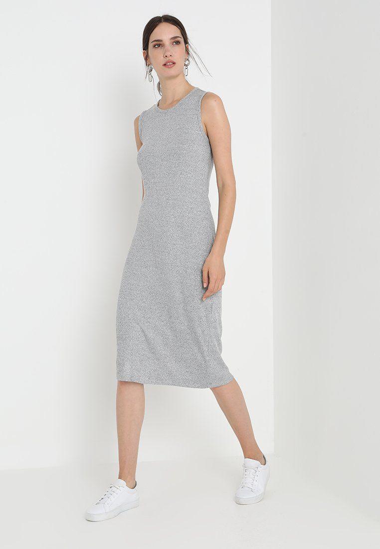 b63e91b3da91 Vardagsklänning - light grey marle   Mode   Grey, High Neck Dress ...